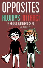Opposites always attract - humanstuck karezi  by gamrezi