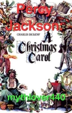 Percy Jackson: A Christmas Carol by mythlover440