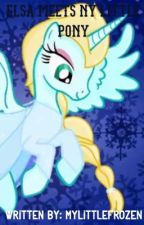 Elsa meets My Little Pony by MyLittleFrozen