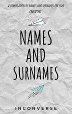 Surnames  by MsGaza