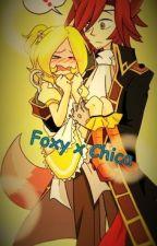 [TERMINADA] Foxy x Chica [FNAF] by _Solitary_Angel_