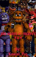Five Nights At Freddy's 3 & 4 by AlexxMars