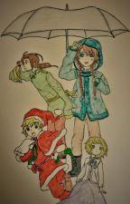 Silver Umbrellas by BookBird1497