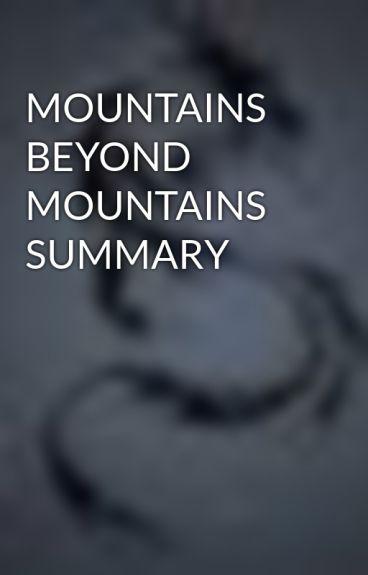 mountains beyond mountains summary