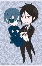 Black Butler Ciel x Sebastian, Yaoi by Black_Moon_Writer