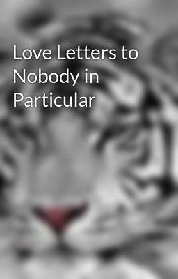Nobody in particular