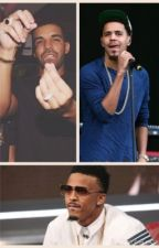 August, J. Cole, and Drake Imaginez by MindlessNickie
