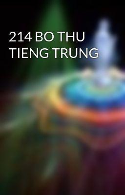 214 BO THU TIENG TRUNG