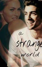 a strange world by faccina_sorridente