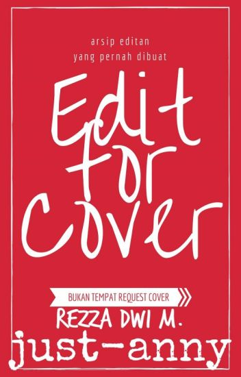 Edit for Cover