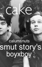 Cake smut basically ✔️ by calumsnuts