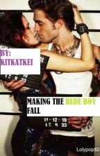 Making The Rude Boy Fall by Kitkatkei