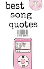 ♛Best Song Quotes♕™ by here-comes-batman