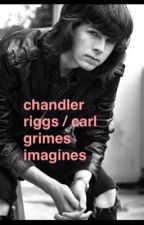 Chandler Riggs and Carl Grimes Imagines by omggAshley