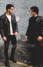 Imagine Ethan+Grayson Dolan  by daddygrathan