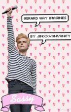Gerard Way imagines by JinxxVonVanity