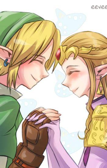 Zelda und link im bett