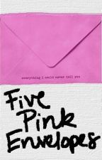 Five  Pink Envelopes by sellaturcica