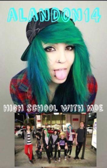 High School With My Digital Escape (Fan Fiction)