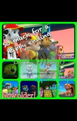 paw patrol back to the past rocky wattpad. Black Bedroom Furniture Sets. Home Design Ideas