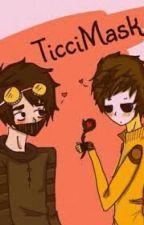 Ticci Toby x Masky by Haunted_Waffels