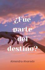 ¿Fue parte del destino? / En edición by AlmendraAlvaradoLez