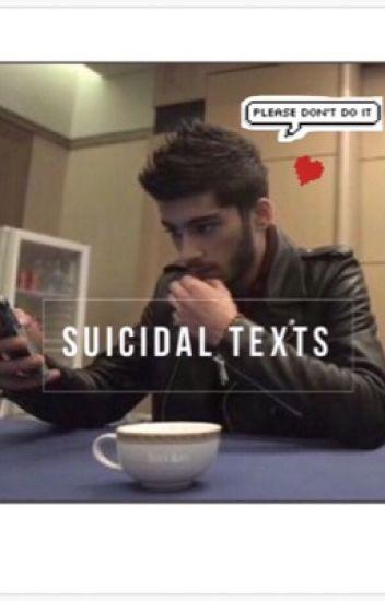 Suicidal texts • z.m.