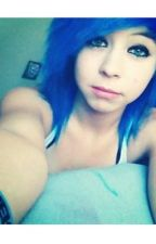 The Blue Haired Girl by fourbabes_