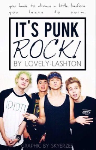 It's punk rock! [Lashton & Malum AU]