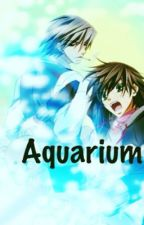 A day at the aquarium - Junjou Romantica by BerryBerryBlitz
