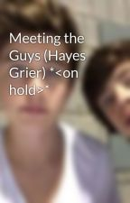 Meeting the Guys (Hayes Grier) *<on hold>* by _hayes_nash_grier