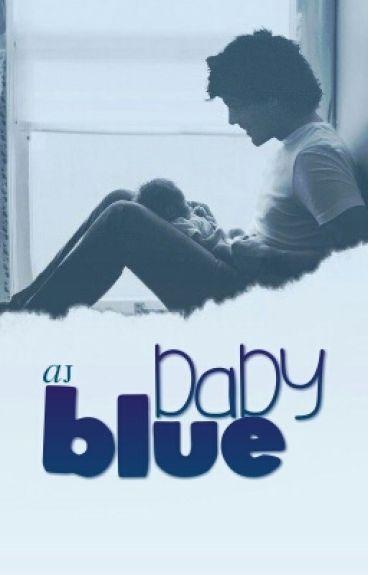 Baby Blue || larry [mpreg]