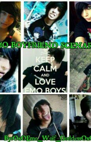 EMO boyfriend Scenarios