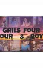 FOUR GIRLS and FOUR BOYS by bumstory
