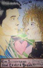 Kim Scissorhands and Edward Boggs by pinkflxyd