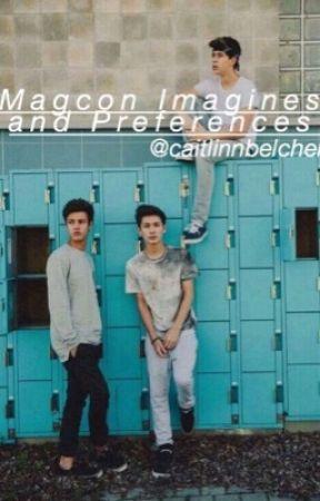 Magcon Imagines/Preferences - Poor Sick Little Boyfriend