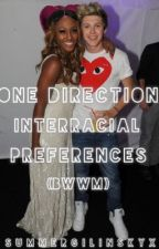 One Direction Interracial Preferences (BWWM) by summergilinskyx