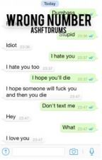 wrong number || michael clifford by ashftdrums