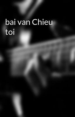 bai van Chieu toi