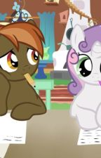 Button mash x sweetie bell  love at first. Sight by buttonbell