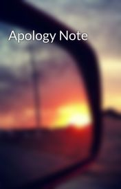Apology Note by TrevorMoranismyking