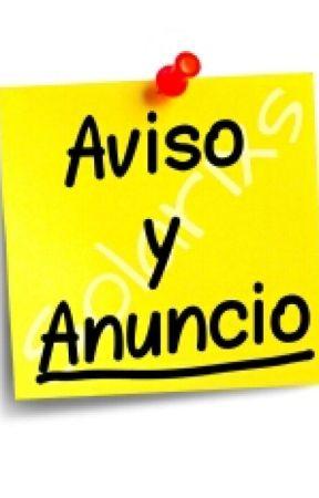 AVISO Y ANUNCIO by Solarixs