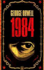 "Джордж Оруэл ""1984"" by vezdeodino4ka"