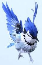 Blue Jay. A Super Heroine. by MyLifeMyStories