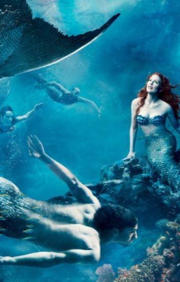 A caught mermaid boy