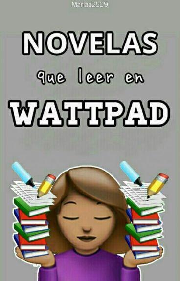 Novelas que leer en Wattpad