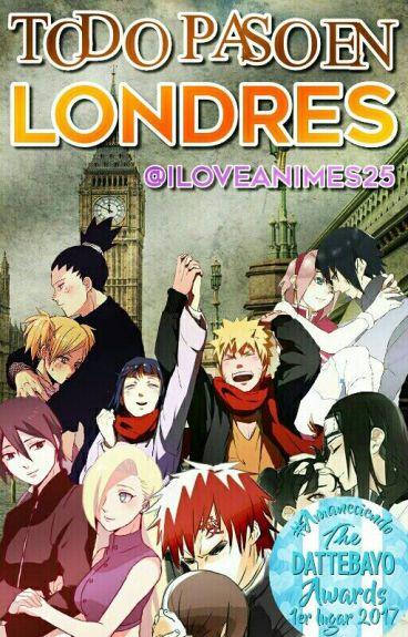 TODO PASO EN LONDRES #NarutoAwards