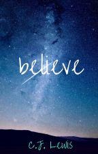 believe · barry allen/the flash by CJ_Lewis