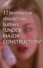 17 brothers or should I say bothers *UNDER MAJOR CONSTRUCTION* by Reader_Girl3