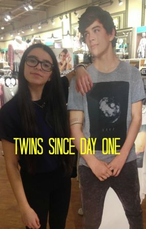 Twins Since Day One {Hayes Grier Fanfic} by Mirmir101